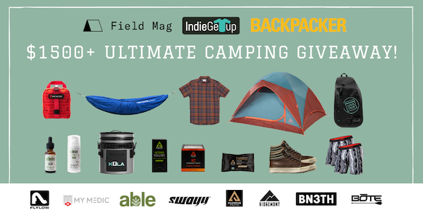 44c51885f6 IndieGetup | Ultimate Camping Giveaway ($1500+ Value)