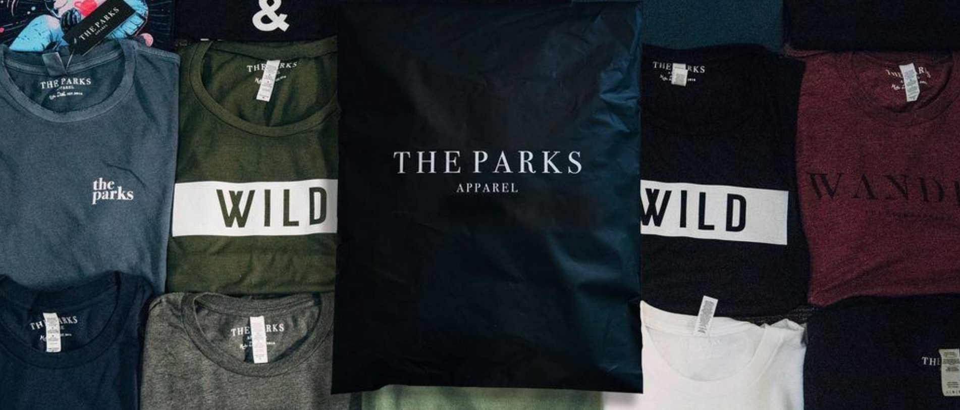 Live Under The Stars Distressed Tee The Parks Apparel