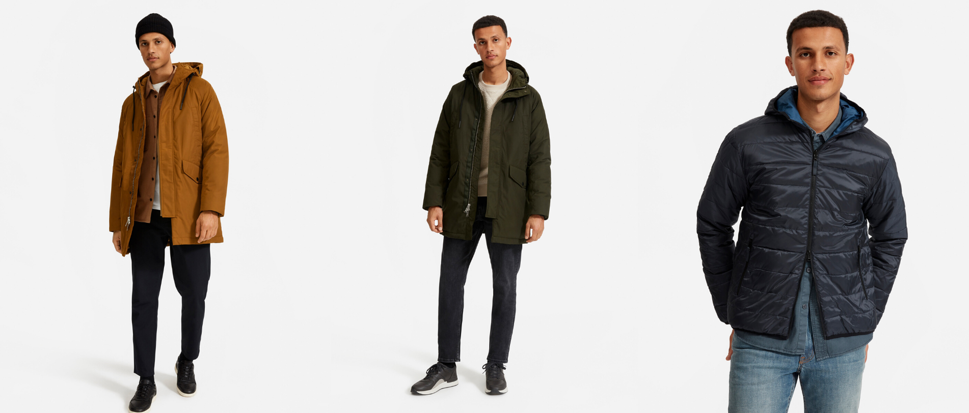 The ReNew Lightweight Hooded Puffer - everlane