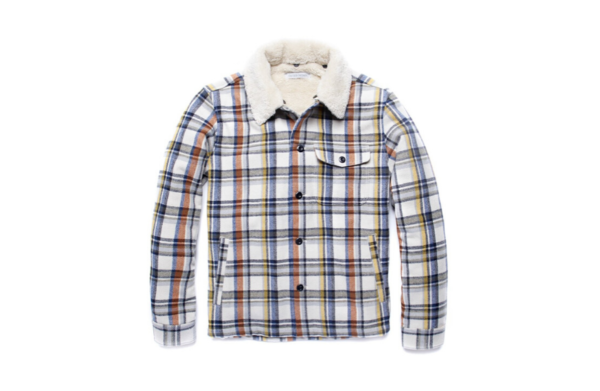 Sherpa blanket shirt jacket - outerknown