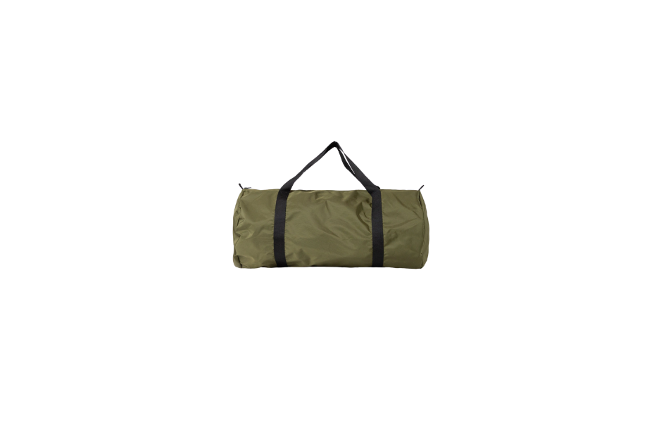 Army Green Nylon Pack Weekender Bag