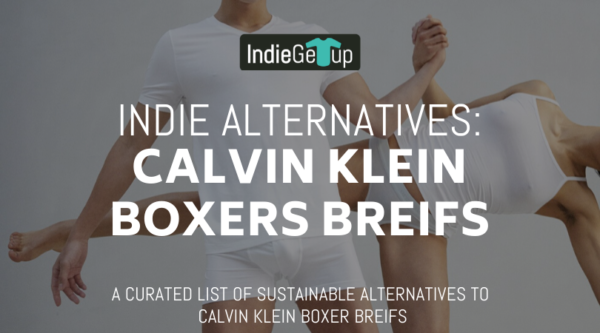 Indie Alternatives: Calvin Klein Boxer Breifs