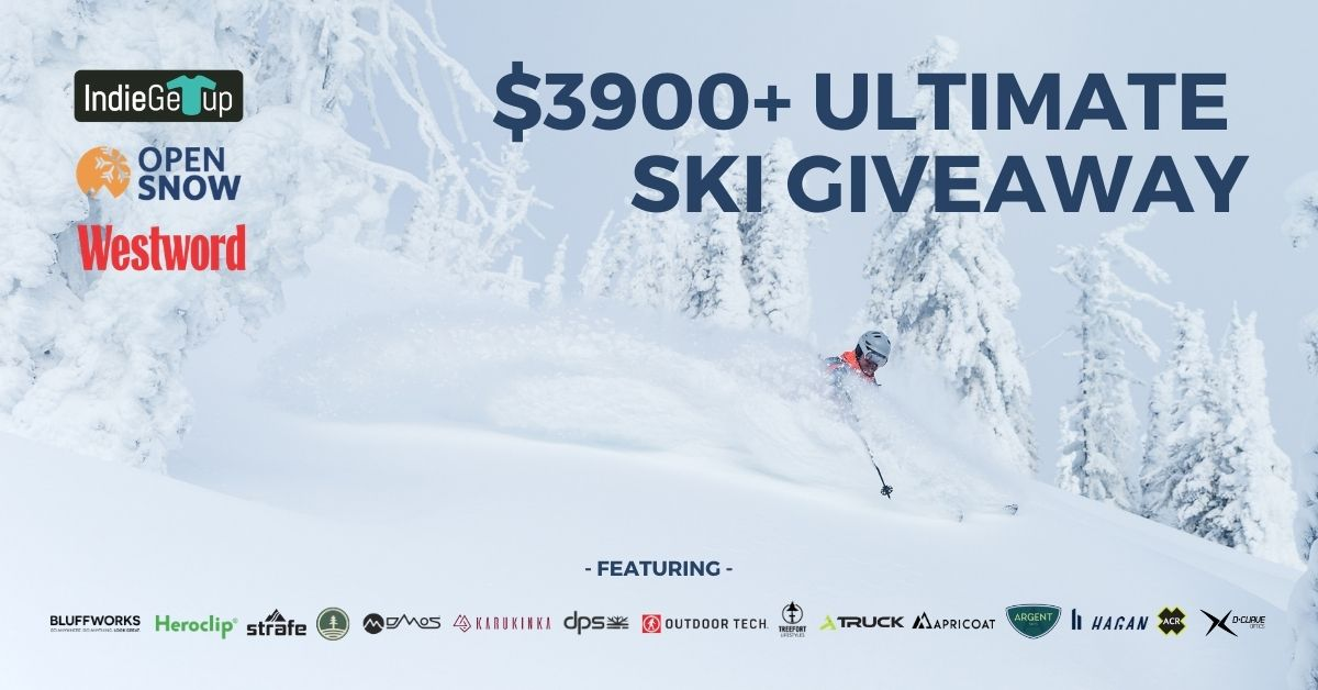 online contests, sweepstakes and giveaways - $3900+ Ultimate Ski Giveaway